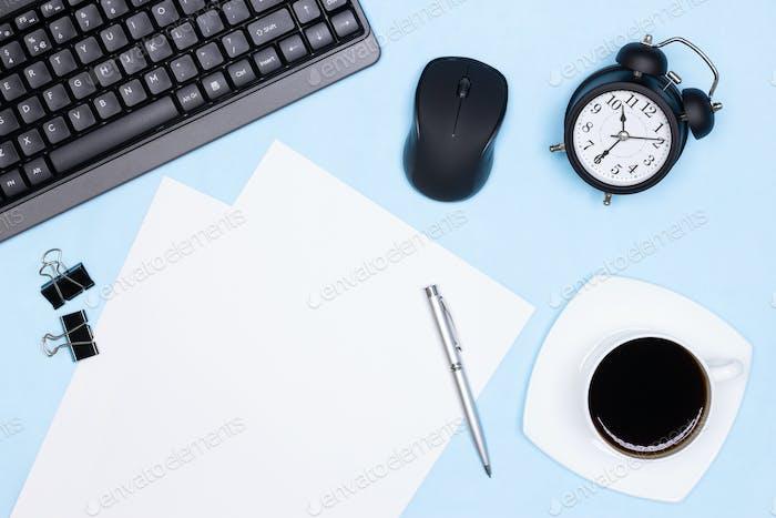 Urgent work, deadline concept