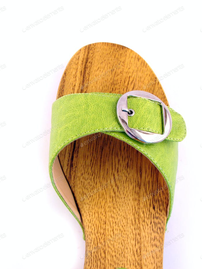 woman shoe isolated