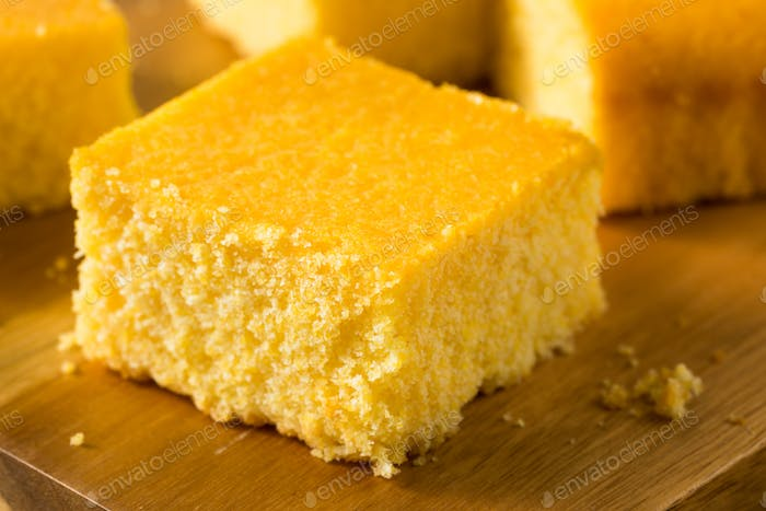 Homemade Cut Up Cornbread