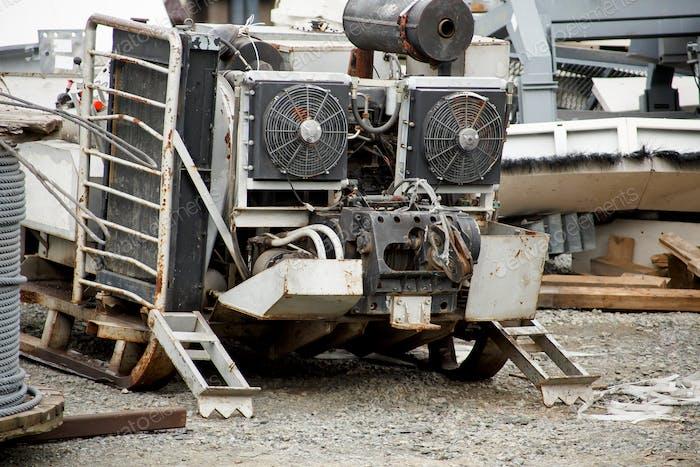 Mobiler Dieselgenerator