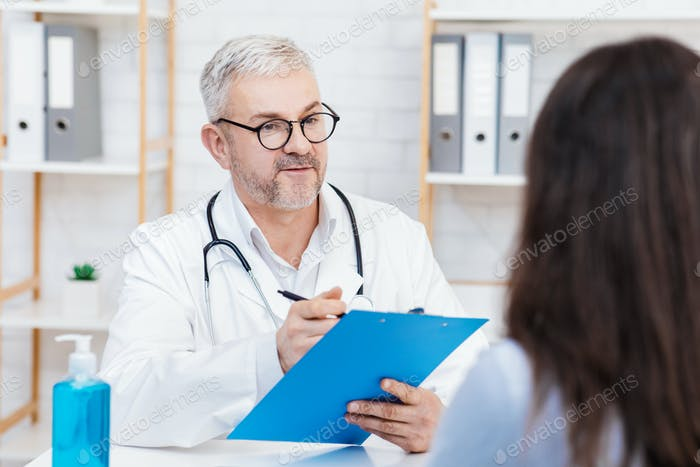 Medical professional, general practitioner and family doctor