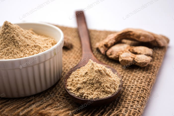 Dry Ginger Powder or Sonth