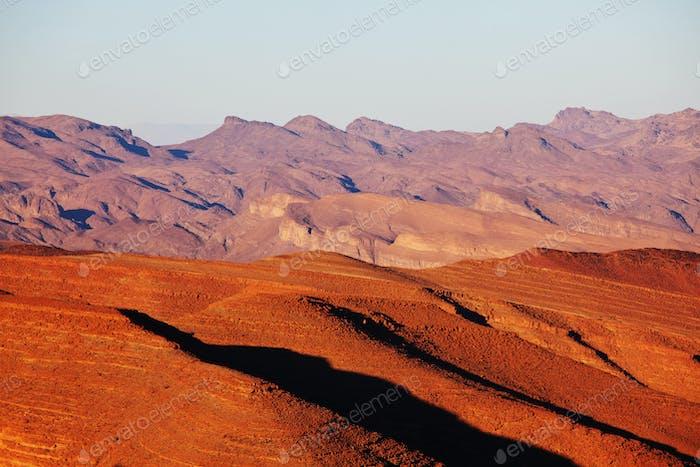 Berge in Marokko