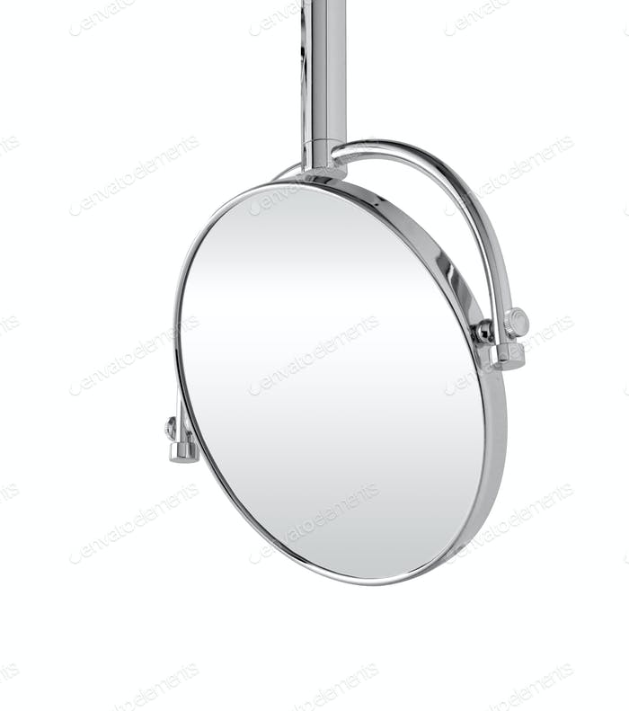 mirror isolated on white background