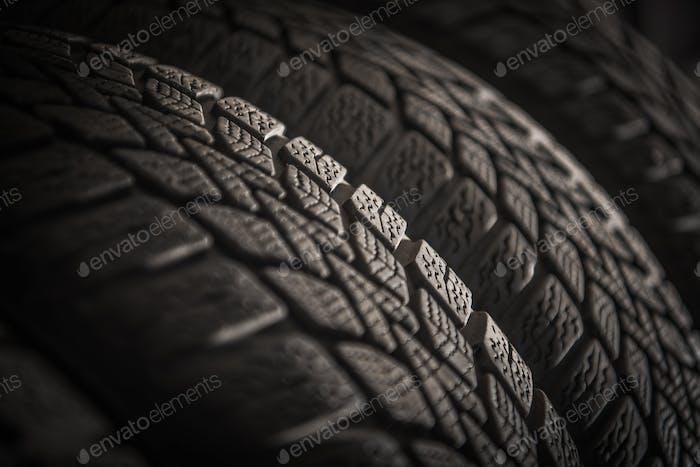 New Car Tires Rack