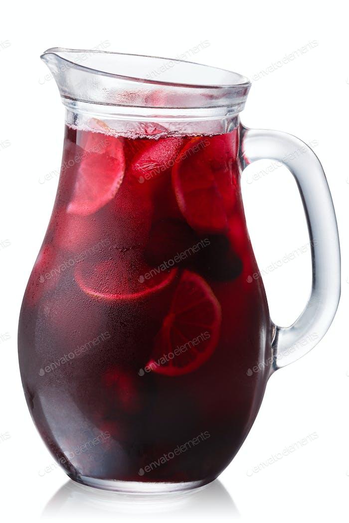 Iced cherrylemonade jug, paths