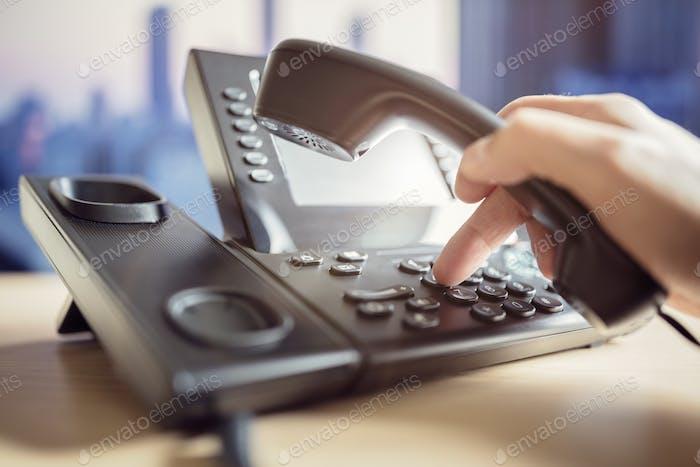 Telefontastatur wählen