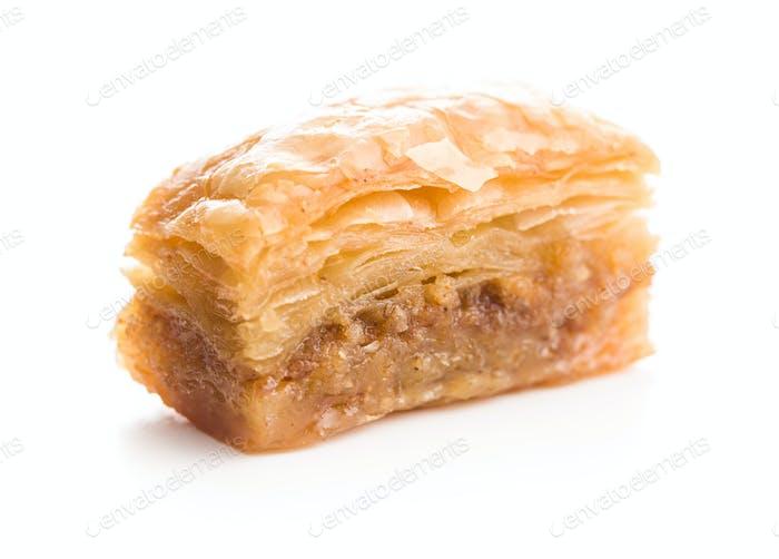 Süßes Dessert Baklava.