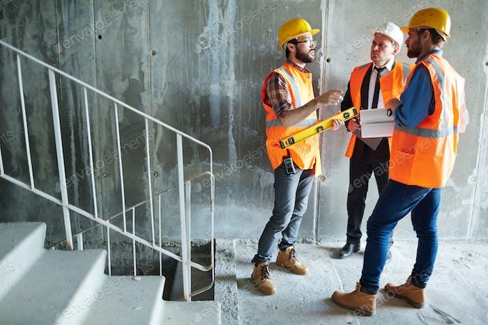 Inspectors of new building