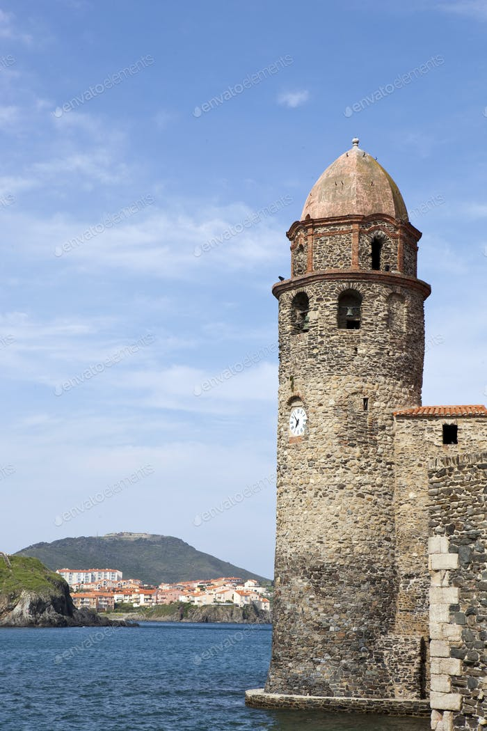 Lighthouse of Collioure, France