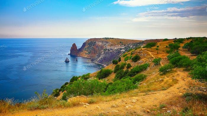 Fiolent , Crimea - sea landscape