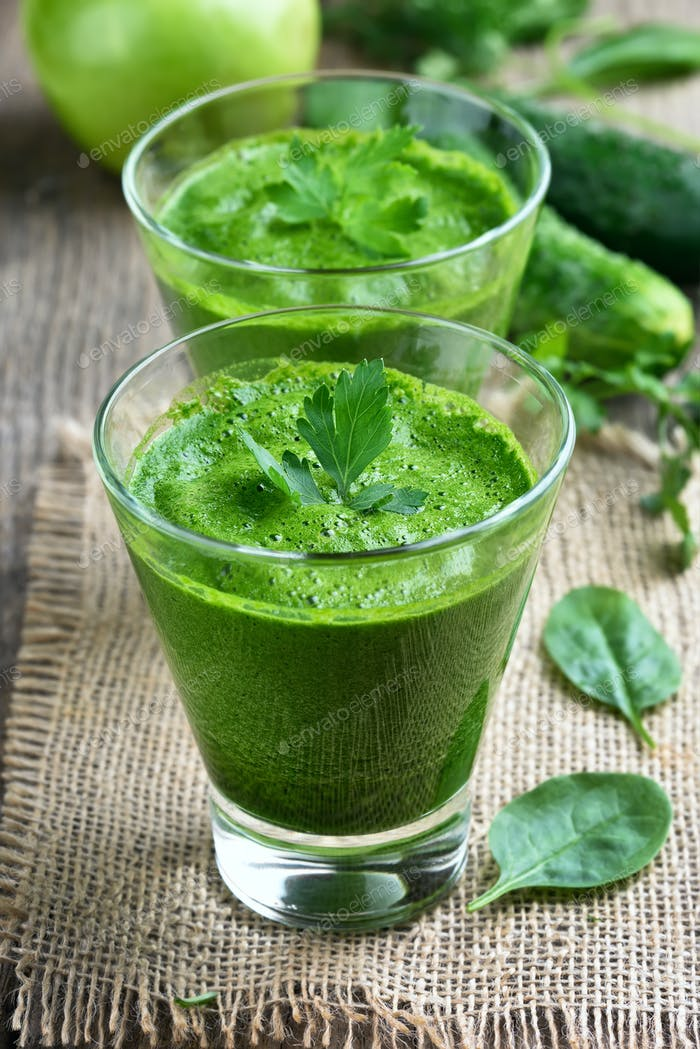 Vegetable spinach smoothie