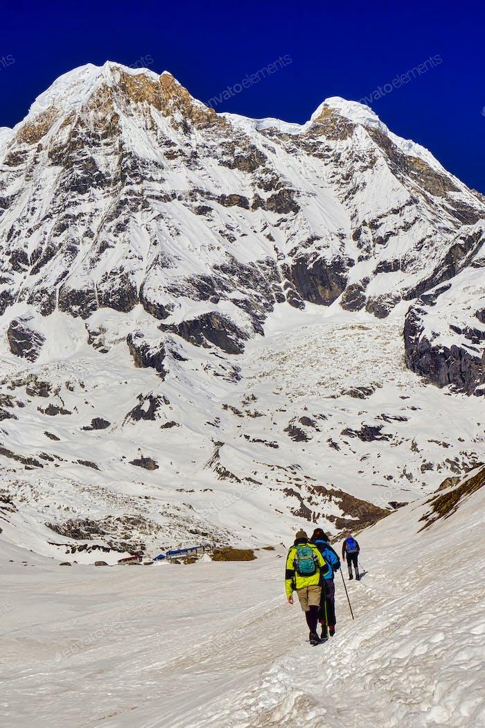 Annapurna South, Annapurna-Gebirge, Himalaya-Gebirge, Nepal