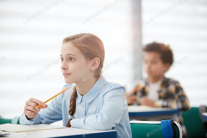 Children Listening in Class