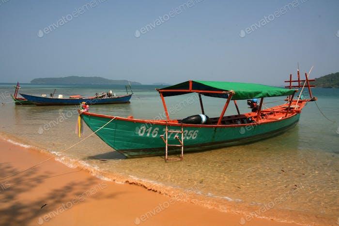 Fishing Boat - Sihanoukville, Cambodia