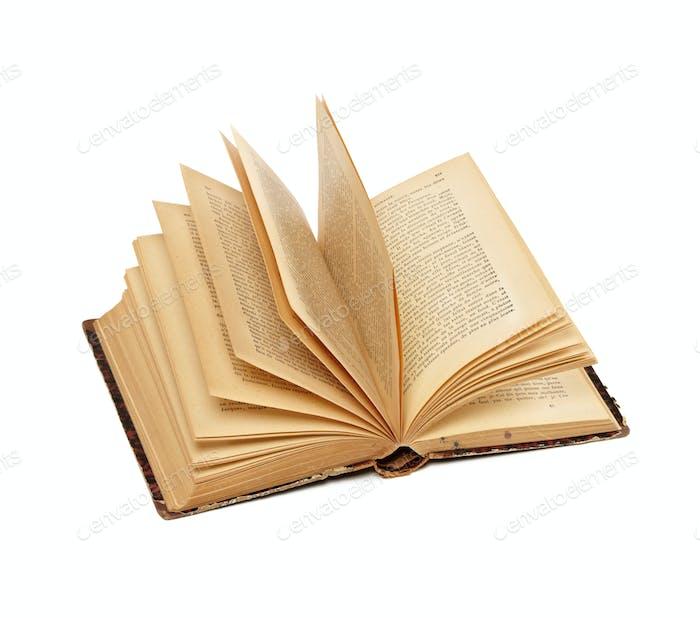 Eröffnetes altes Buch