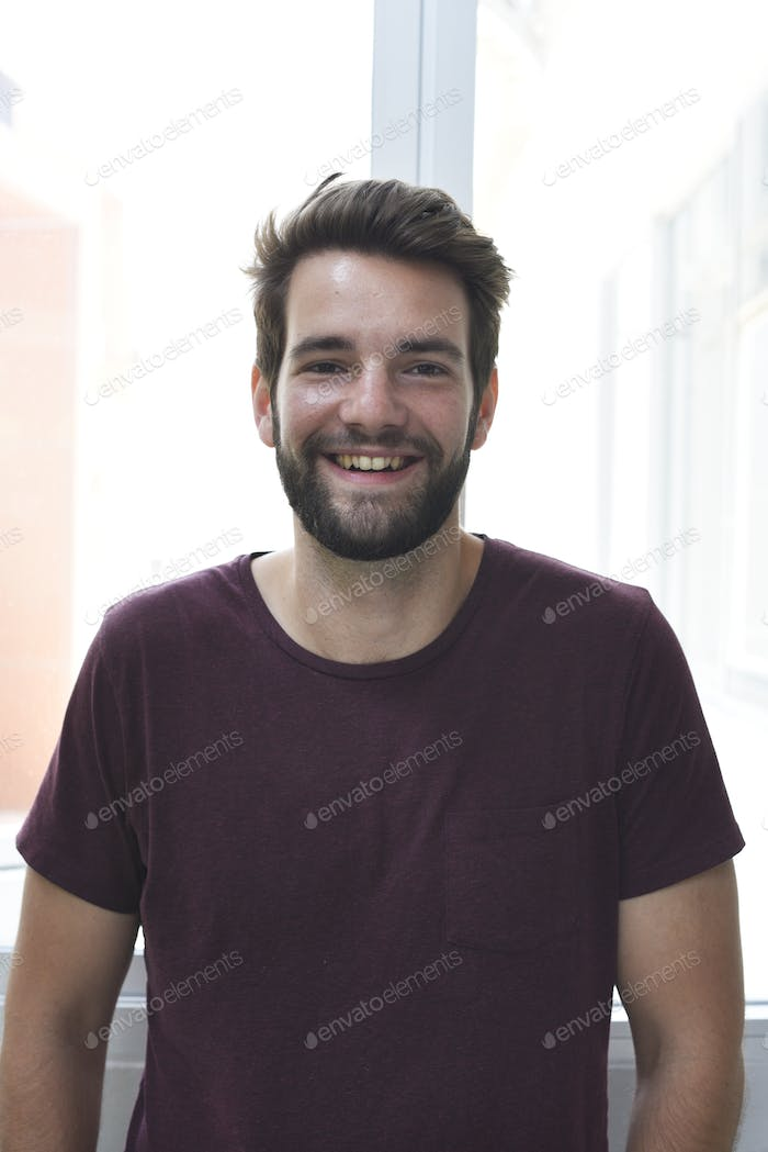 Startup Business People Face Smile Expression Portrait