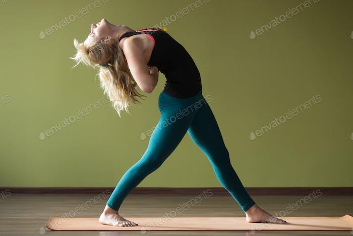 Variation of Standing Backward Bend