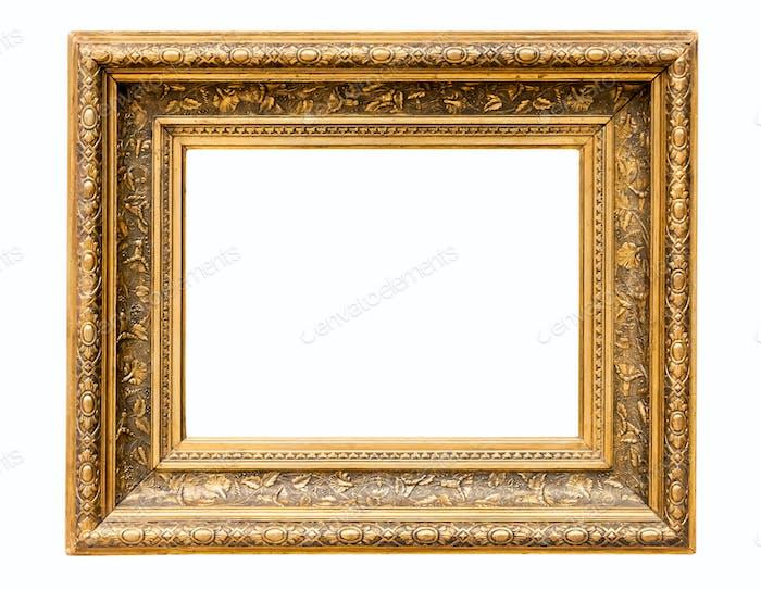 Rechteck dekorativer goldener Bilderrahmen