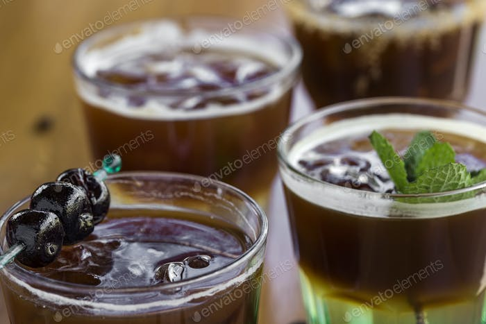 Cold coffees