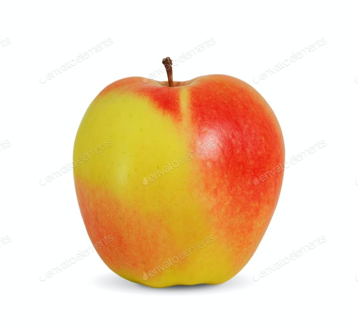Beautiful apple on white background