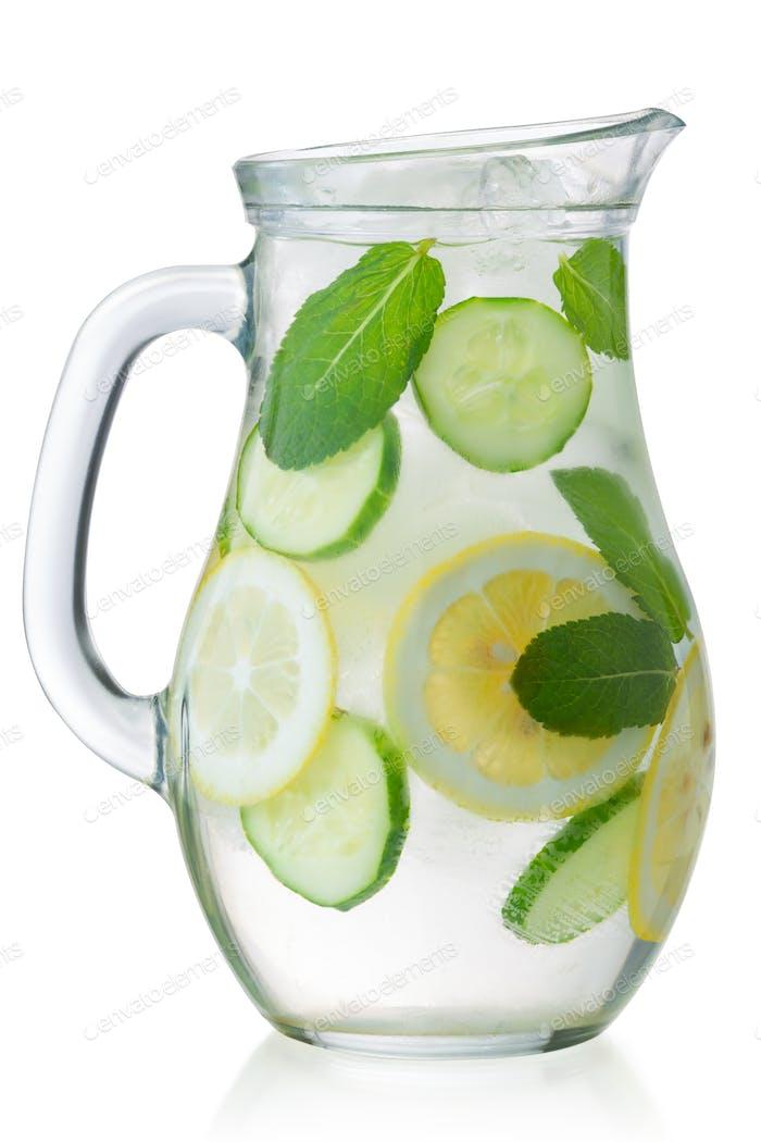 Iced sassy water jug, paths