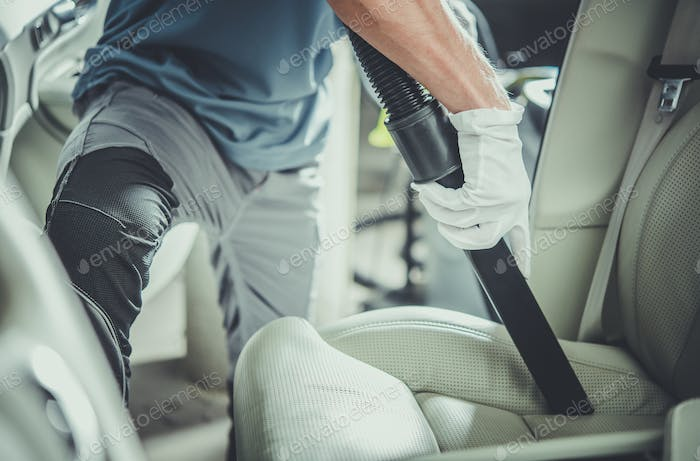 Vehicle Interior Vacuuming