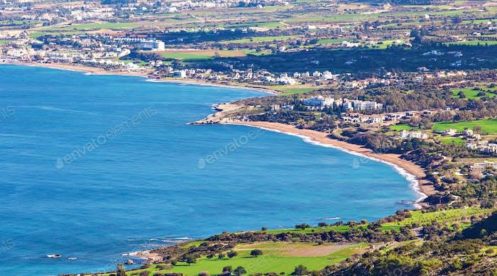 Cyprus Latchi Panorama
