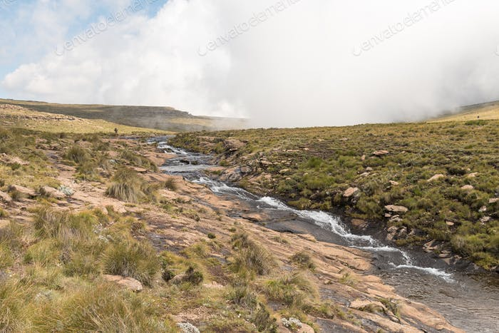 Tugela River, above Tugela Falls, second tallest waterfall on earth