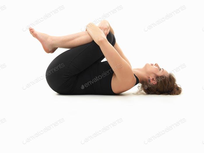 pose de yoga Relajante