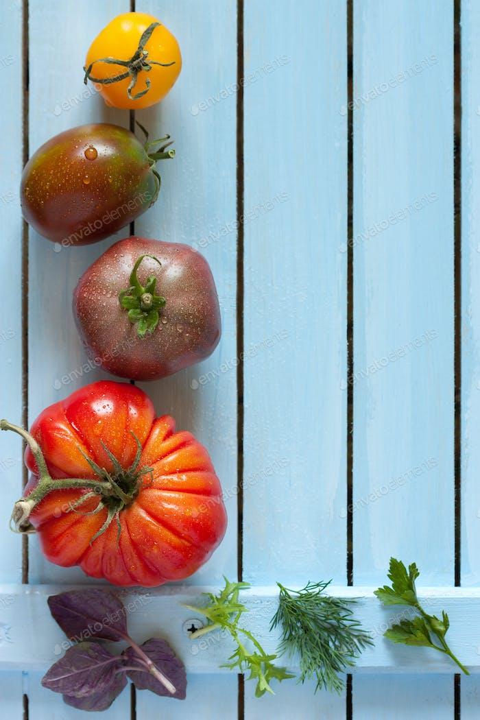 Tomaten.