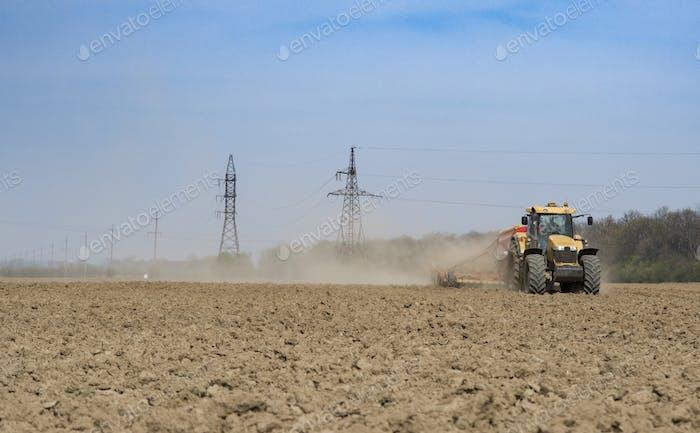 farmer seeding