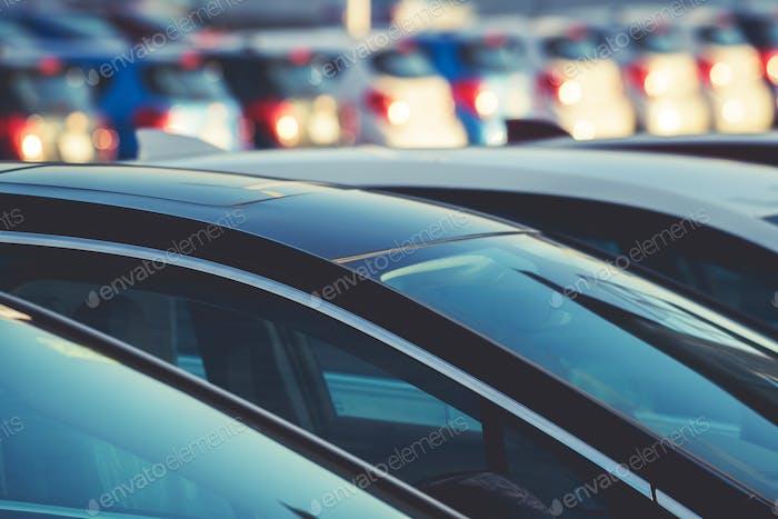 Concessionnaire automobile et leur stock