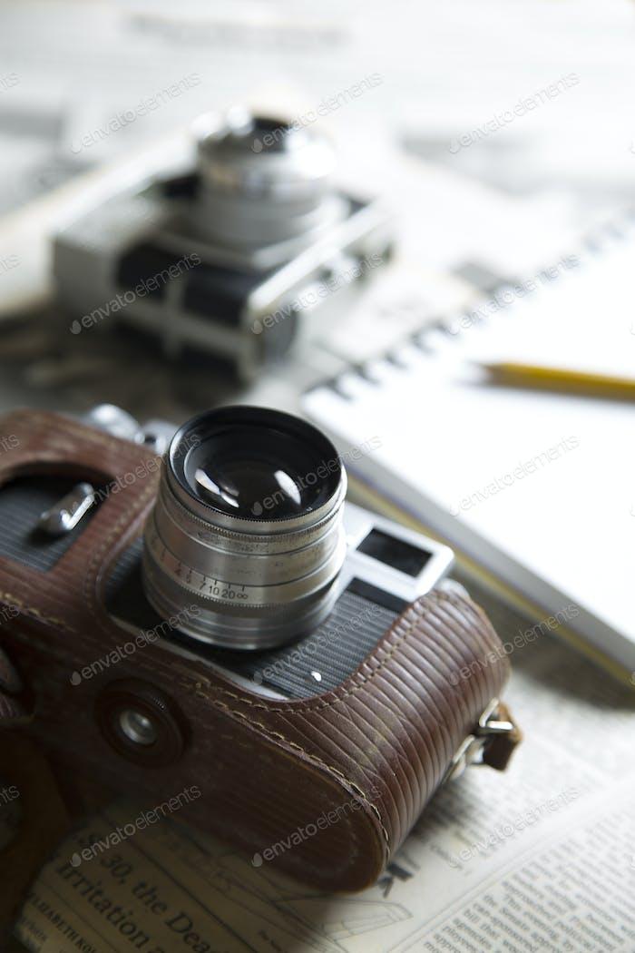 Vintage Reporter Kamera