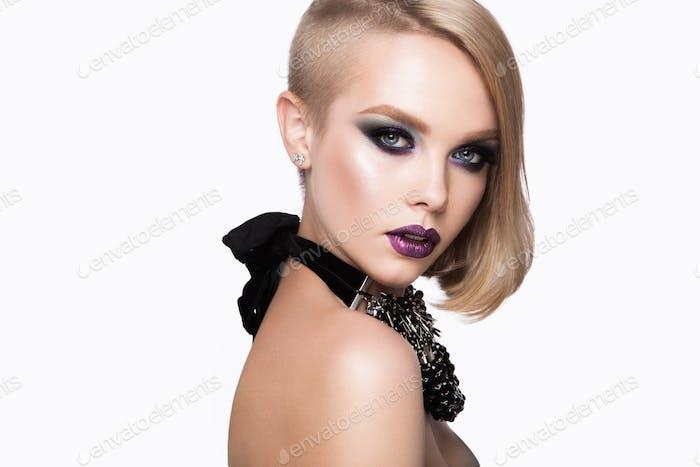 Beautiful Blondie Woman