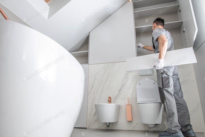 New Bathroom Interior Finishing