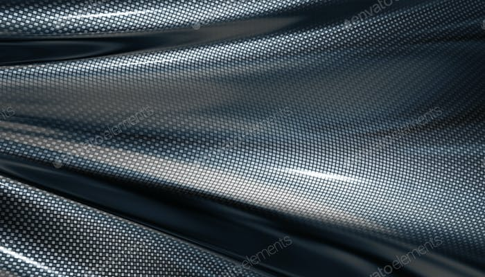 Carbone fiber background