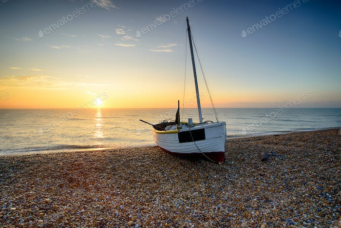 Beautiful Sunrise at Dungeness Beach