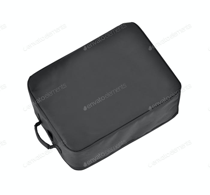 Schwarze Tasche isoliert