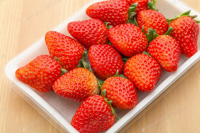 Strawberry in package