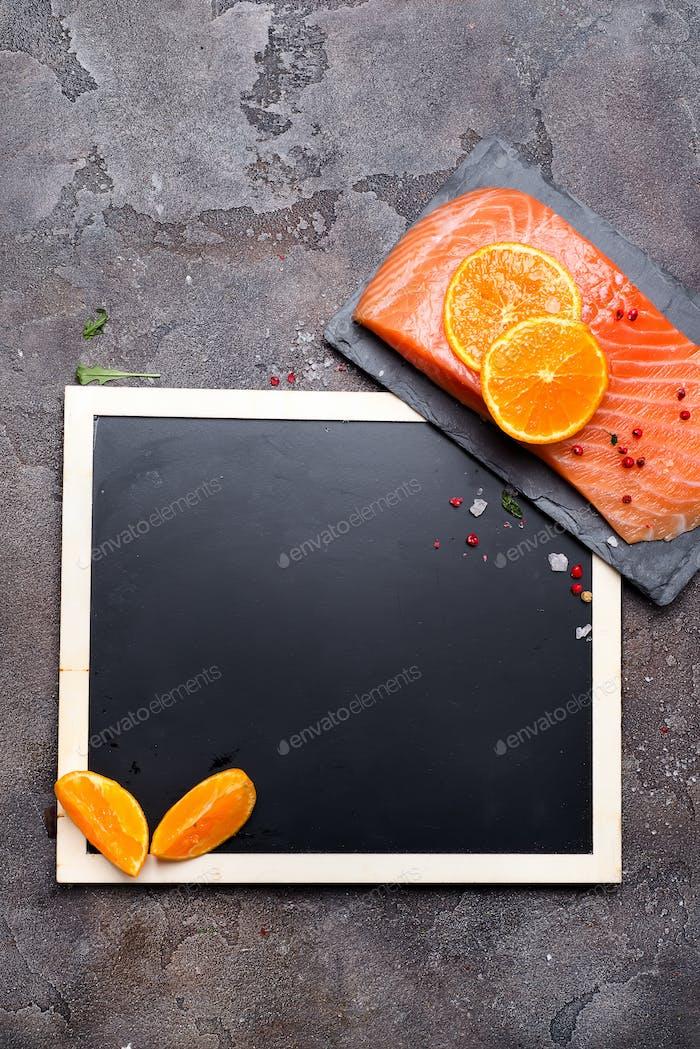 Salmon fillet a