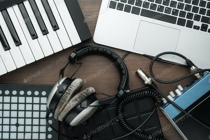 Music Production Equipment