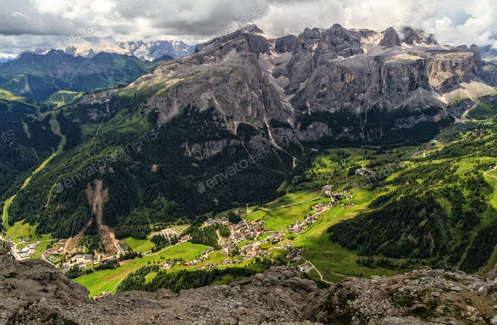 Dolomiti - high Badia Valley