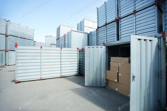 Modern cargo storage