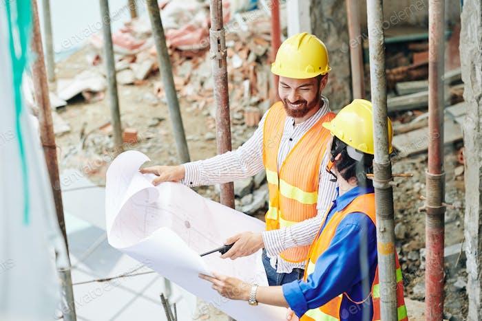 Talking positive builders