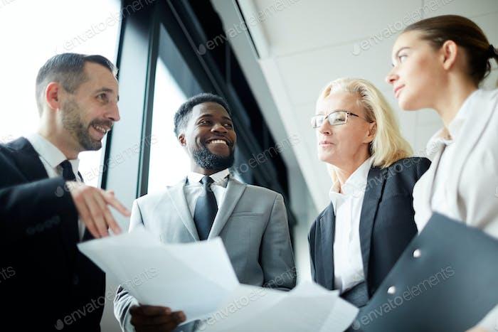 Meeting of brokers