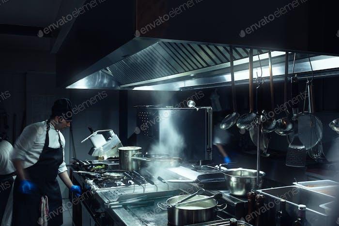 He runs this kitchen