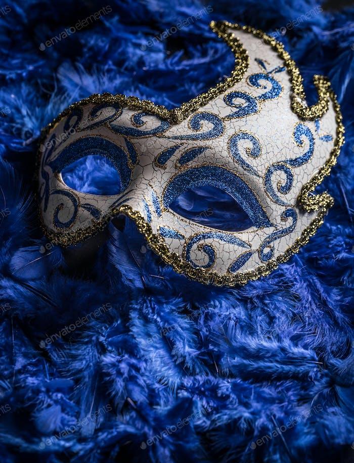 Female carnival mask