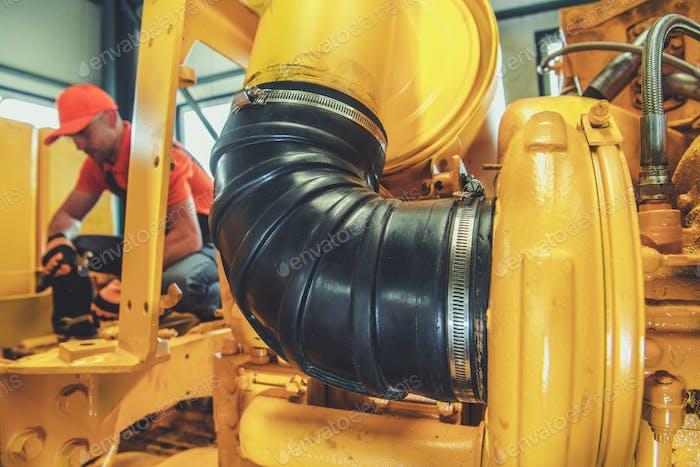 Dieselmotorreparatur