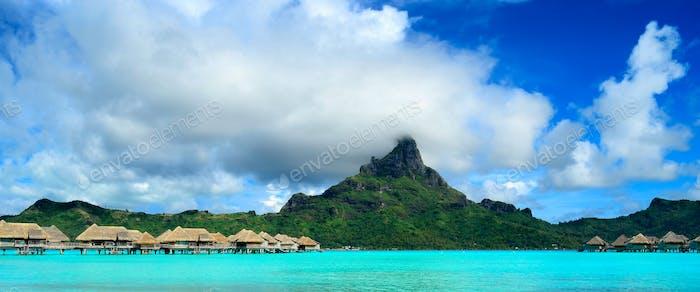 Bora Bora resort panorama
